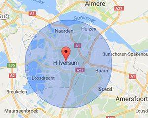 werkgebied slotenmaker Hilversum