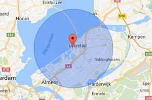 werkgebied slotenmaker Lelystad